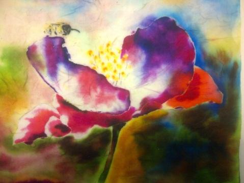 Bee in Watercolours
